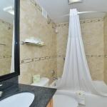 Bathroom and vanity area